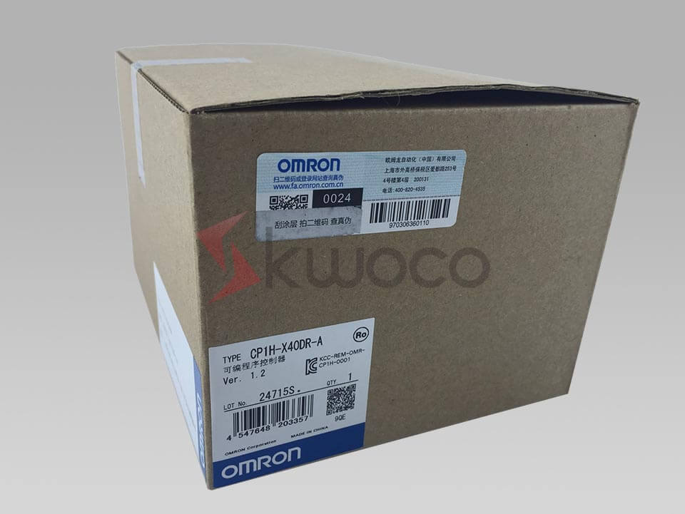 OMRON PLC CP1H-X40DR-A in stock | KWOCO
